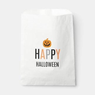 Halloween-Leckerei-Taschen Geschenktütchen