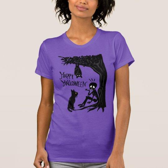 Halloween mit dem Scull T-Shirt