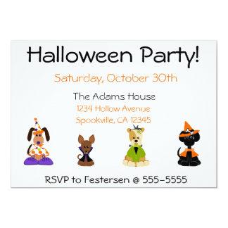 Halloween-Party-Einladungen 12,7 X 17,8 Cm Einladungskarte