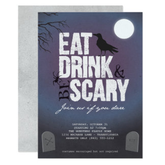 Halloween Party - Eat Drink & Be Scary