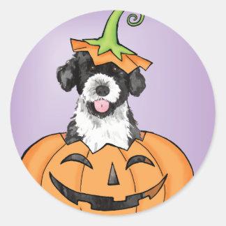 Halloween PWD Runder Aufkleber