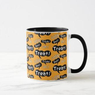 Halloween-Redewendungen Tasse