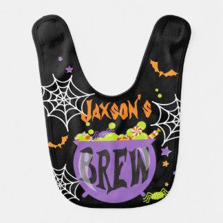 Halloween-Schellfisch-Hexen Bew w Spinnen und Lätzchen