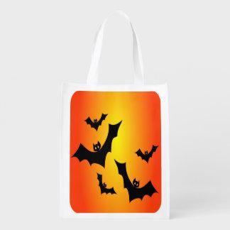 Halloween schlägt wiederverwendbare Trick-oder Wiederverwendbare Einkaufstasche