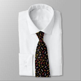 Halloween-Seepferde Krawatte