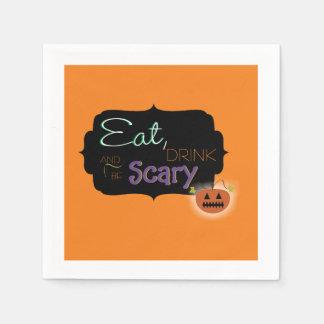 Halloween-Servietten Papierservietten