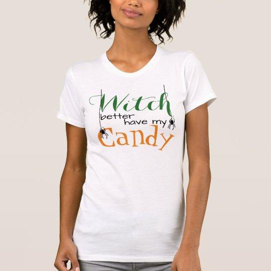 Halloween-Shirt, die bessere Hexe haben meine T-Shirt
