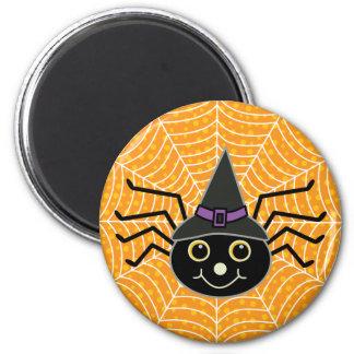 Halloween-Spinne Runder Magnet 5,7 Cm