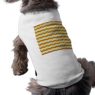Halloween-Süßigkeits-Mais-Hundeshirt Top