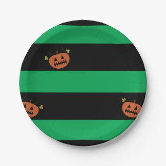 Halloween-Teller Pappteller