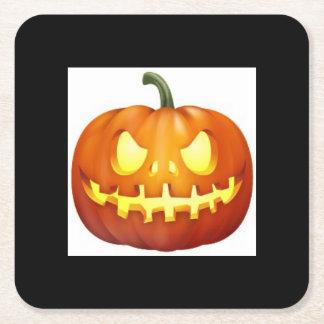 Halloween-Untersetzer Rechteckiger Pappuntersetzer