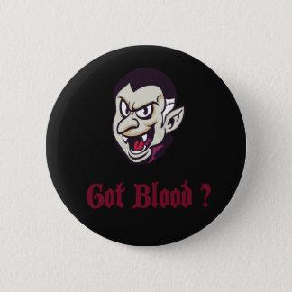 Halloween-Vampir erhielt Blut-Knopf Runder Button 5,7 Cm