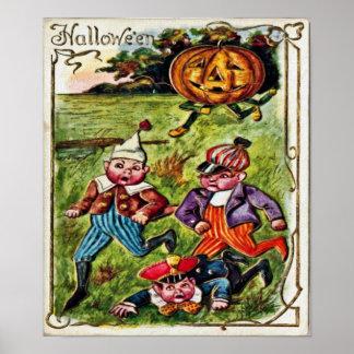 Halloween-Verfolgungs-Plakat Poster