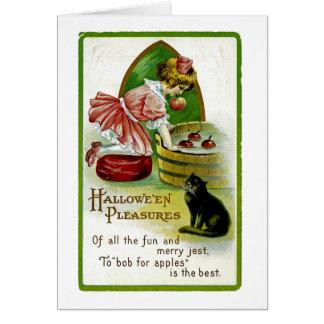 Hallowe'en Vergnügen Karte
