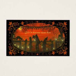 """Halloween-Visitenkarte """"glückliches Halloween """" Visitenkarte"""