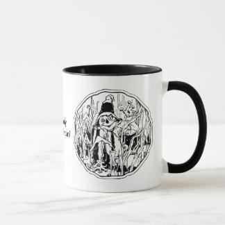 Halloween-Vogelscheuche keine Gehirn-Tasse Tasse