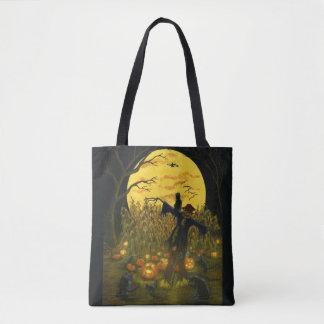 Halloween-Vogelscheuche-Taschentasche Tasche