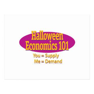 Halloween-Wirtschaft 101 Postkarte