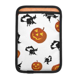 Halloweenkürbise und -hexen iPad Fall Sleeve Für iPad Mini