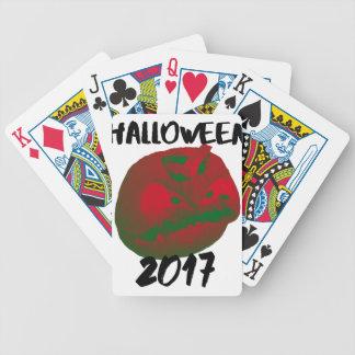 HalloweenKürbislaterne 2017 Bicycle Spielkarten