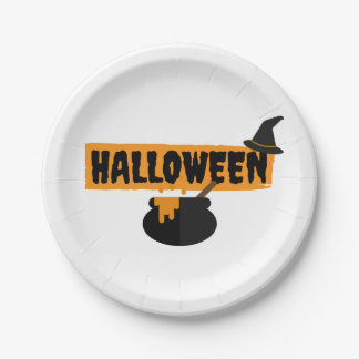 HalloweenpapierParty-Teller Pappteller