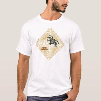 Halloweenspinnennetz und -spinne T-Shirt