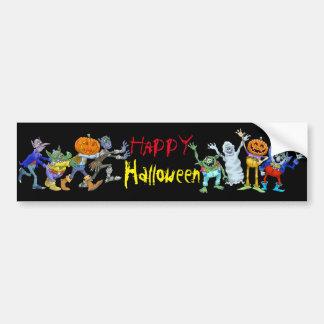 Halloweenstoßaufkleber Autoaufkleber