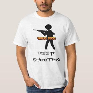 Halo-Chef behalten Schießen-T - Shirt