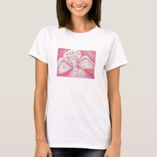 Halo des Herzenvalentine-Engels-Shirts T-Shirt