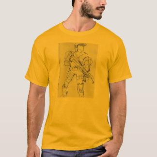 Halo-Spiel-Charakter-Entwurf T-Shirt