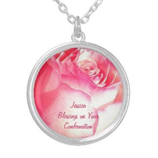 Halskette - rosa Rosen-Feier