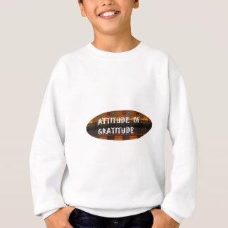 Haltung des sweatshirt