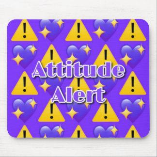 Haltungs-Alarm (lila) Mousepad