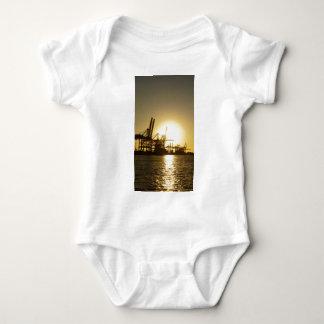 Hamburg-Hafen Baby Strampler