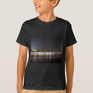 Hamburg-Hafen nachts T-Shirt