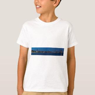 Hamburg Hafen Panorama T-Shirt
