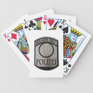 Hamburg Polizei Bicycle Spielkarten