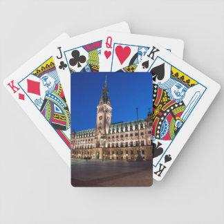 Hamburg-Rathaus Bicycle Spielkarten