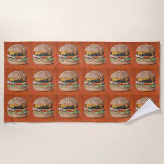 Hamburger-IllustrationsBadetuch Strandtuch