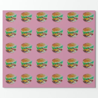 Hamburgerentwurf, ursprüngliche Malerei Einpackpapier