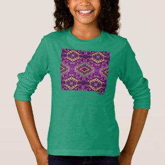 HAMbWG - der Sweartshirt der Kinder - violetter T-Shirt