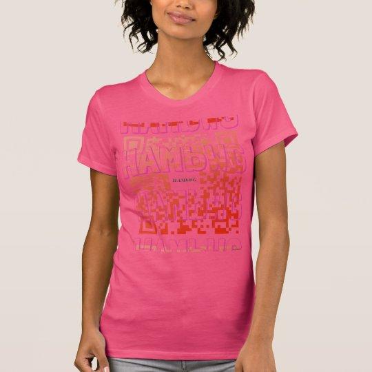 HAMbWG - Hanes Tagless ComfortSoft® Logo Pnk t QR T-Shirt