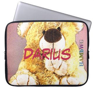 HAMbWG - Neopren-Hülse - Teddybär Laptop Sleeve