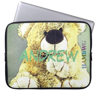 HAMbWG - Neopren-Hülse - Teddybär Laptopschutzhülle