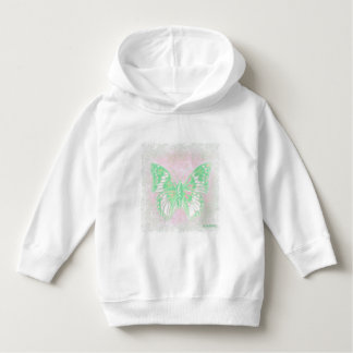 HAMbWG - Sweatshirt - grüner Schmetterling