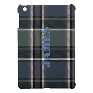 HAMbyWG   glatter harter Fall - karierter w-Salbei iPad Mini Hülle