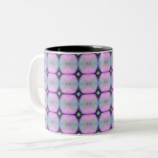 HAMbyWG - Kaffee-Tasse - rosa Kunst-Deko Zweifarbige Tasse