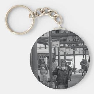 Hamilton-Busbahnhof 02 Schlüsselanhänger