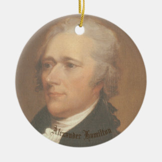 Hamilton-Kreis Ornamant Keramik Ornament