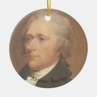 Hamilton-Kreis Ornamant Rundes Keramik Ornament